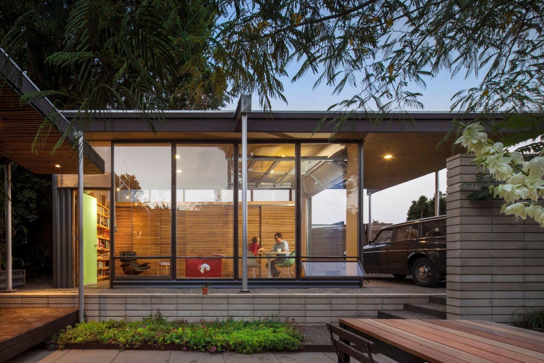 Grasshopper Studio and Courtyard by Wittman Estes