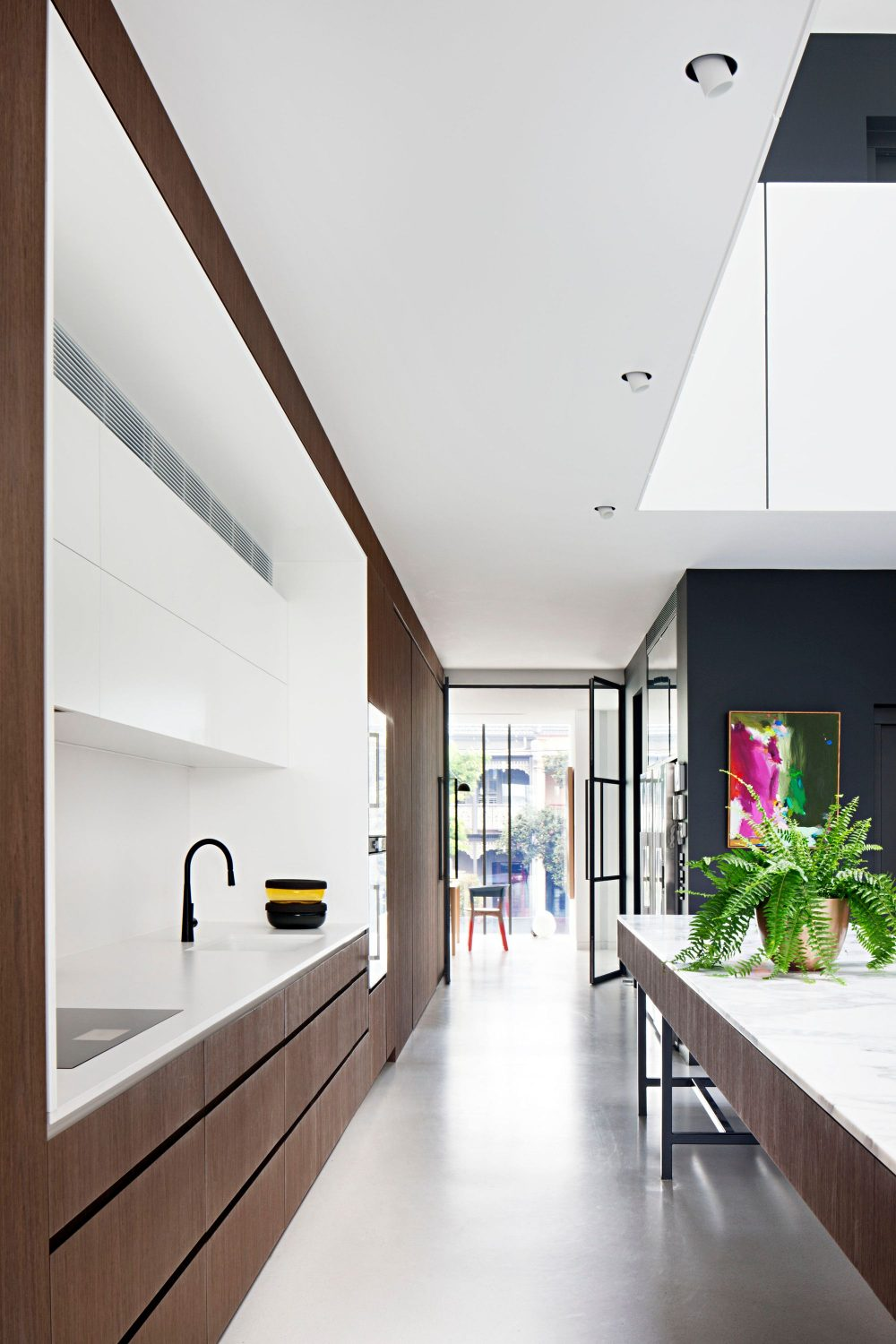 Mixed Use House by Matt Gibson Architecture + Design