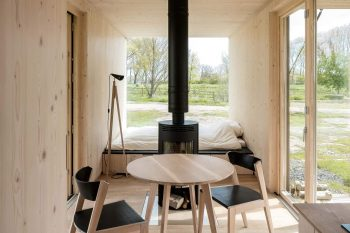 Tiny Modular Cabin by Ark Shelter
