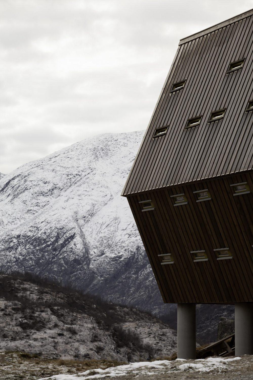 Tungestølen Tourist Cabins by Snøhetta