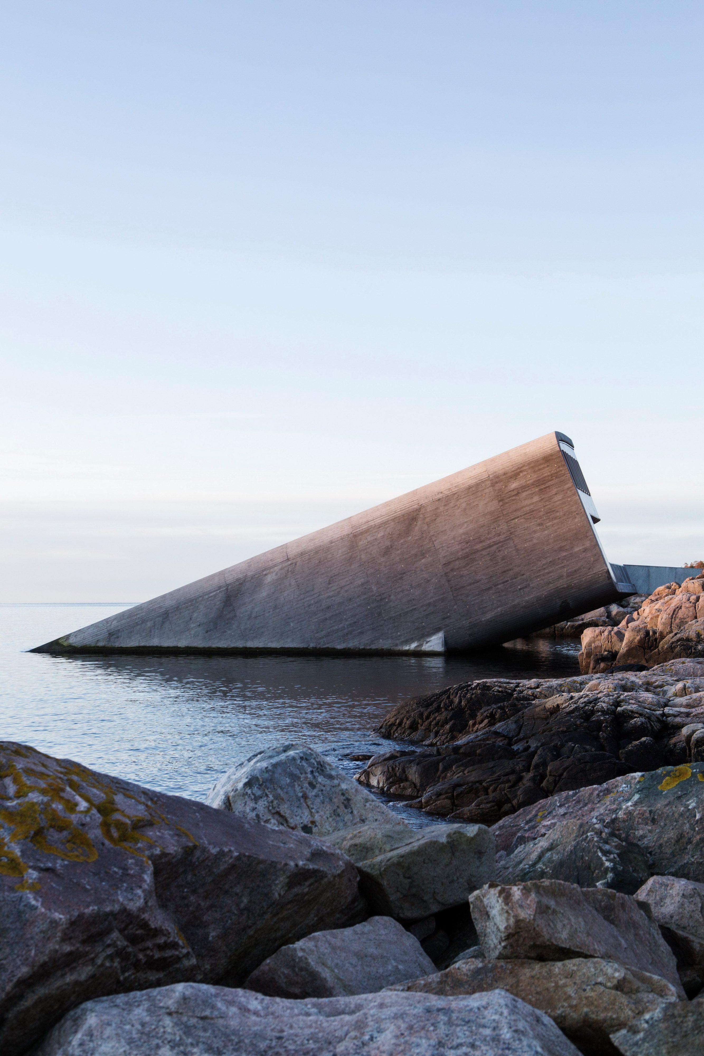 Under. Europe's First Underwater Restaurant by Snøhetta