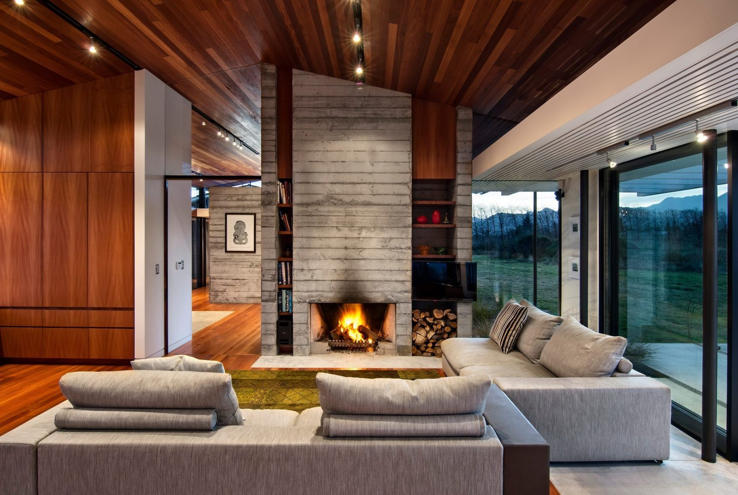 Wairau Valley House by Parsonson Architects