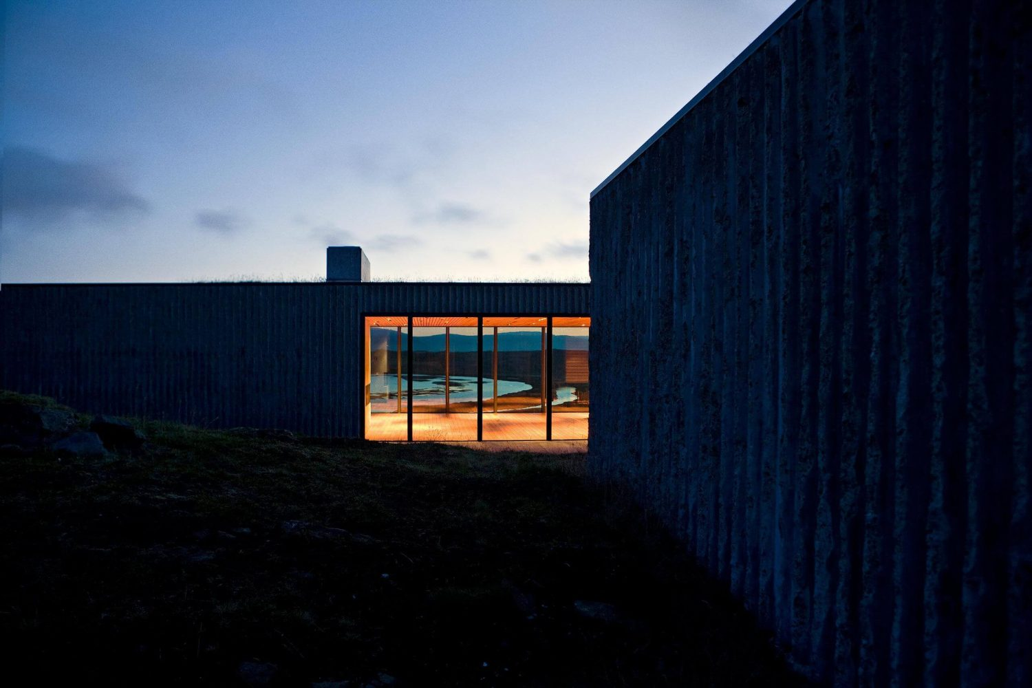 Árborg House by PK Arkitektar