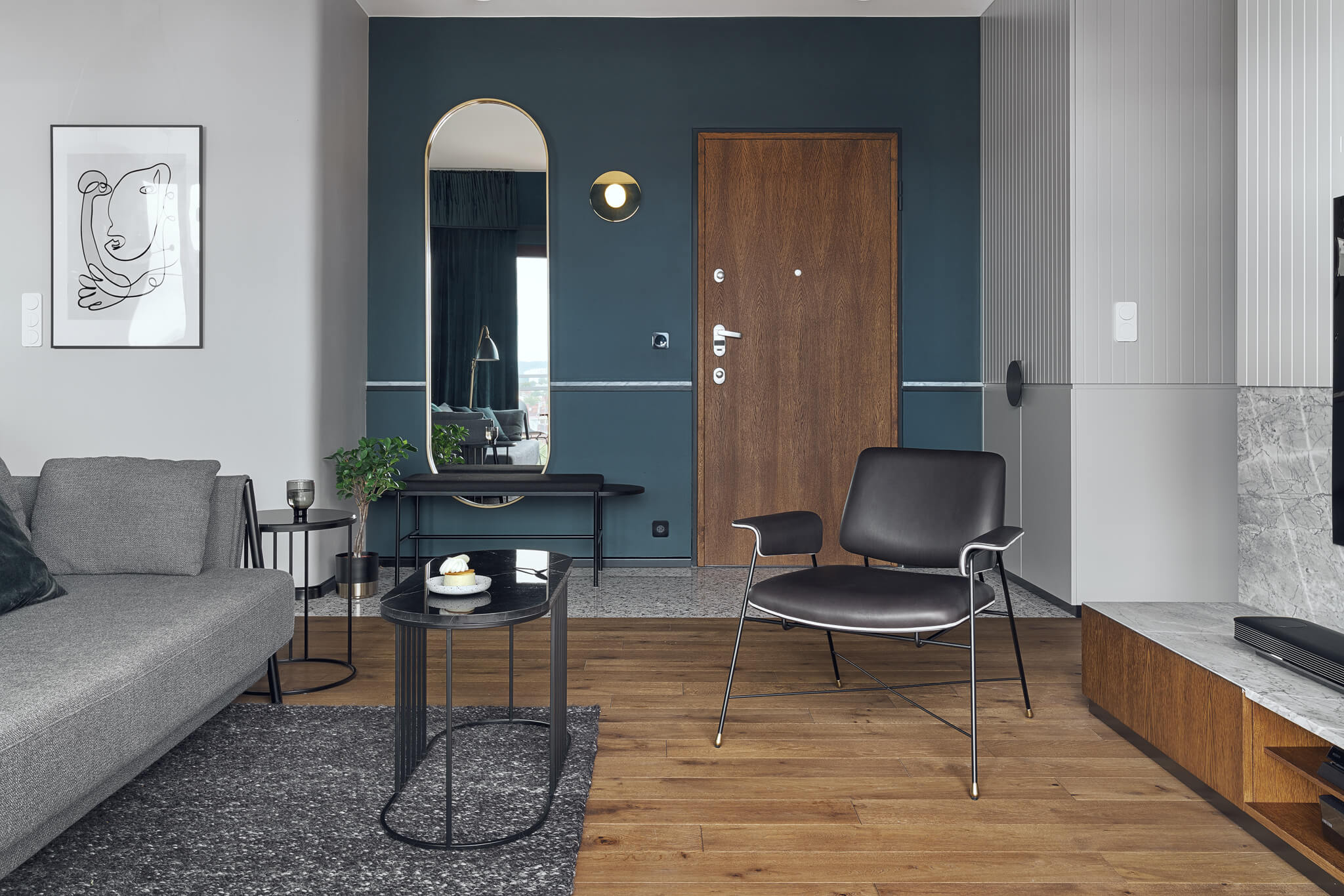 Apartment in Gdańsk by Raca Architekci
