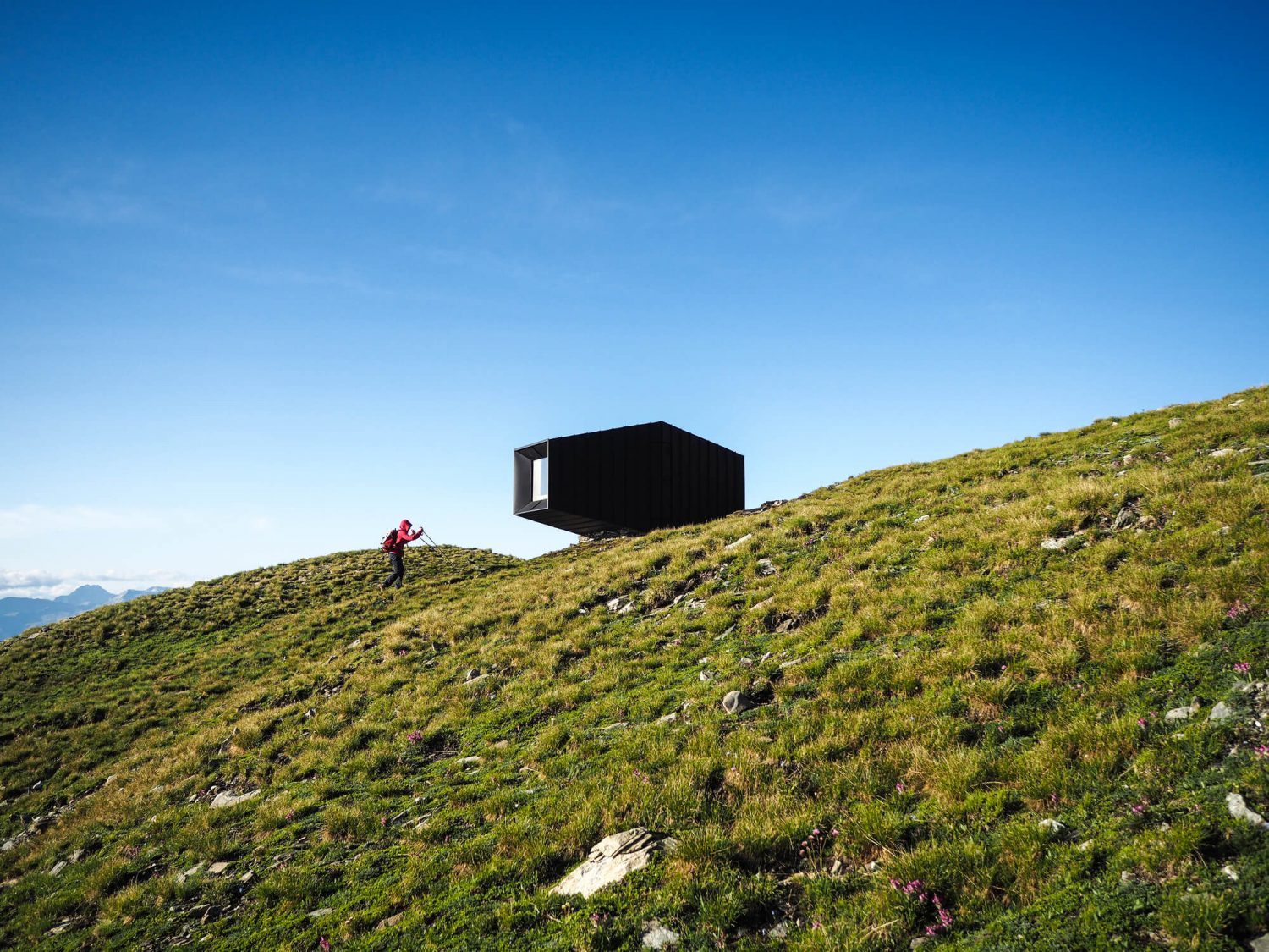 Black Body Mountain Shelter by Michele Versaci