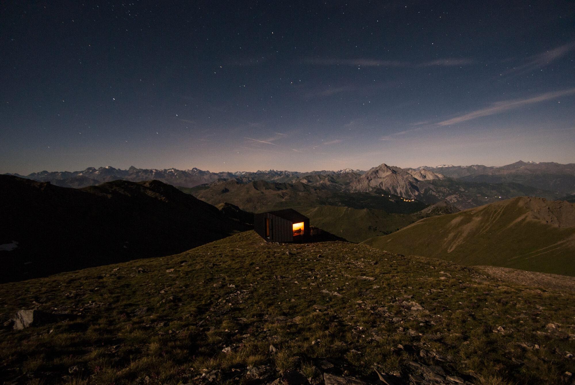 Black Body Mountain Shelter by Michele Versaci