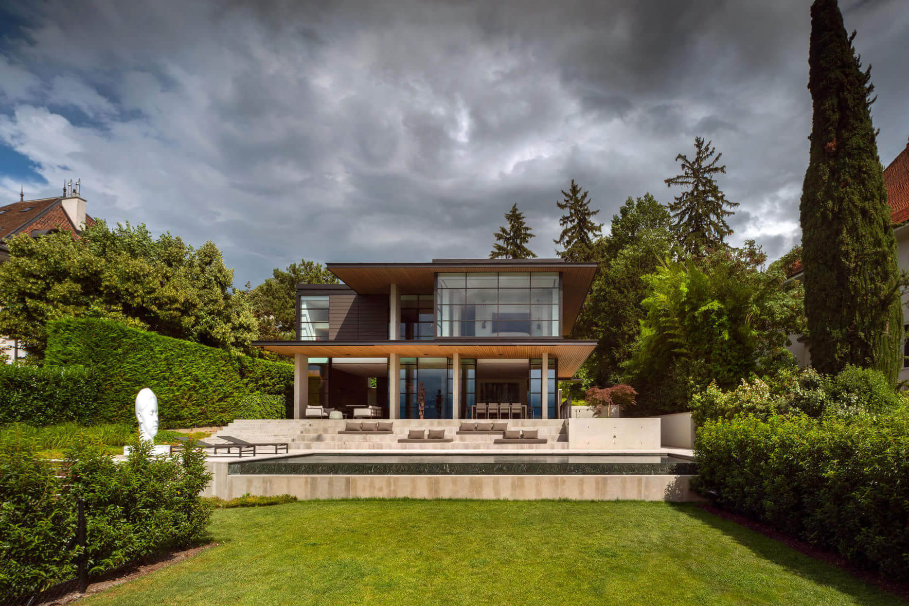 Chemin Byron House by Olson Kundig
