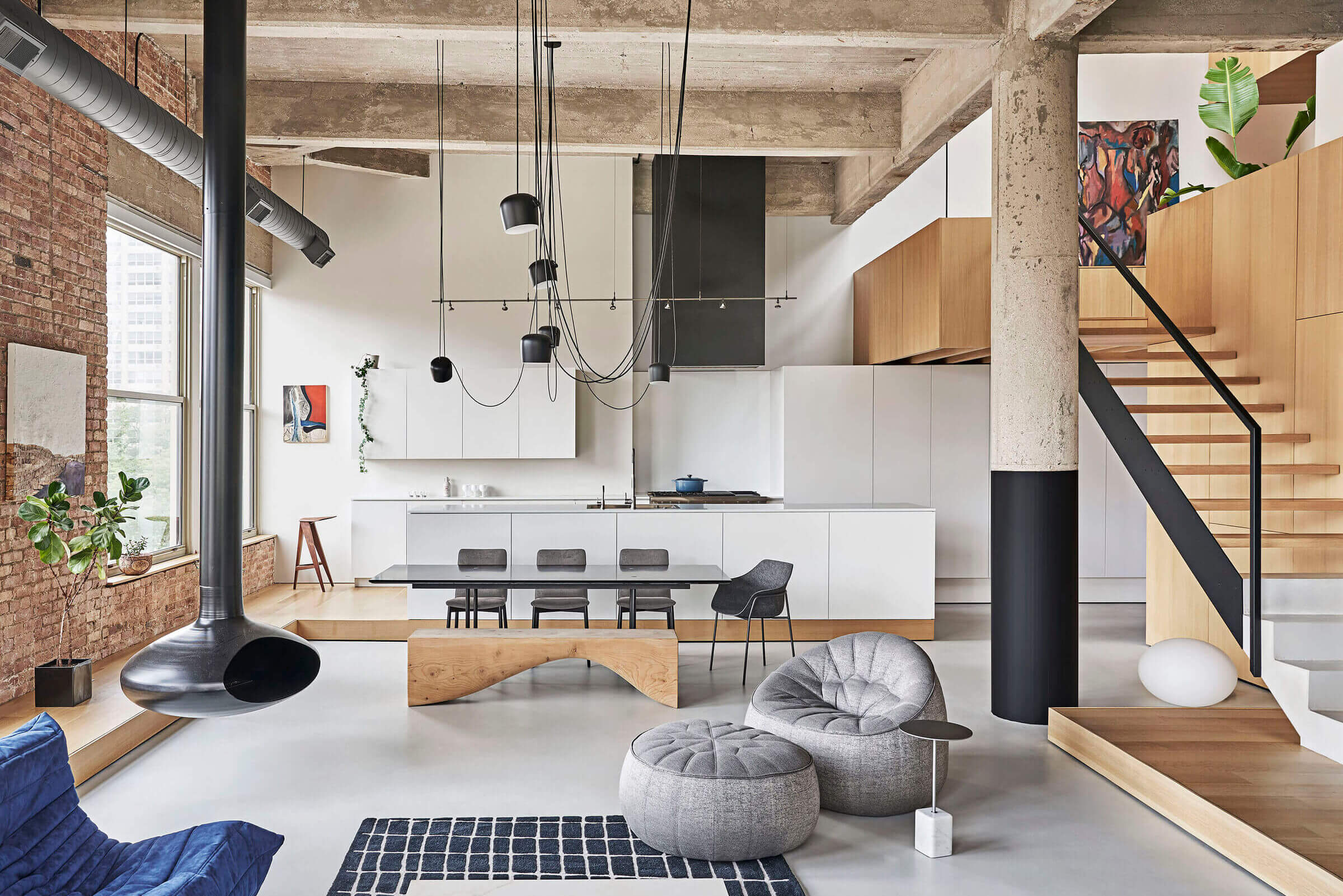 Michigan Loft by Vladimir Radutny Architects