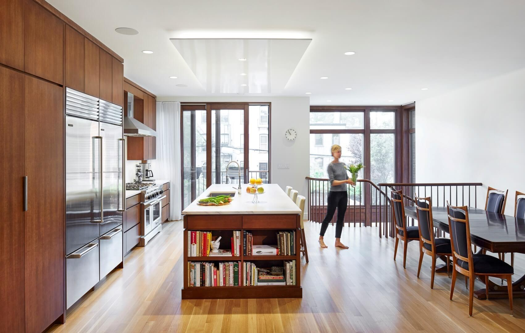 Brooklyn Passive House Plus by Baxt Ingui Architects