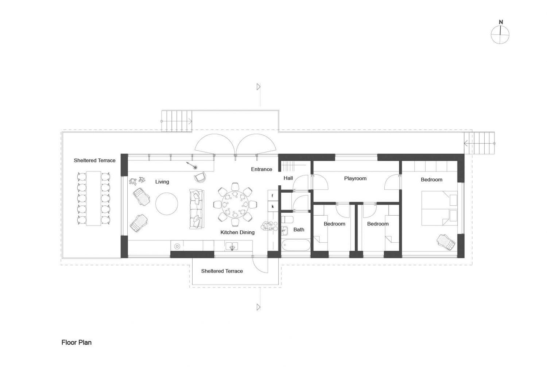 Holiday House Vindö by Max Holst Arkitektkontor