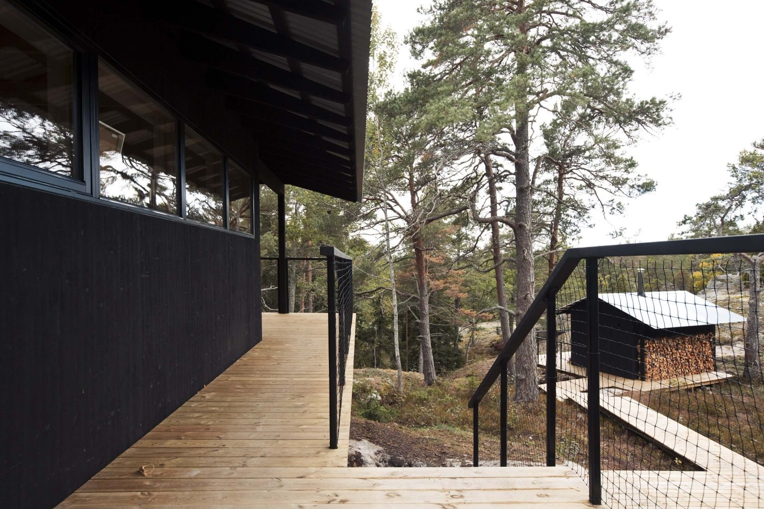 Holiday House Vindö by Max Holst Arkitektkontor
