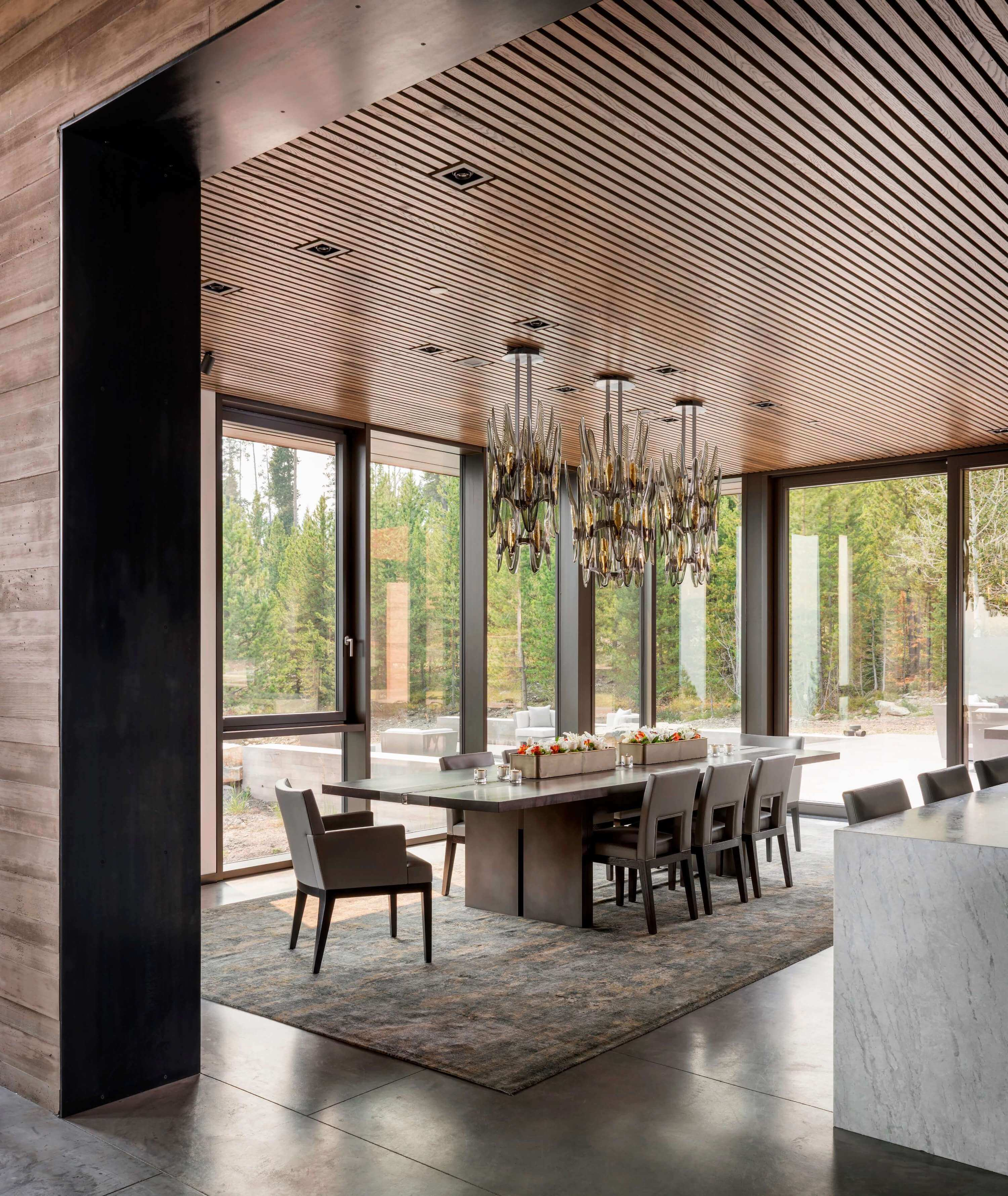 Yellowstone Residence by Stuart Silk Architects