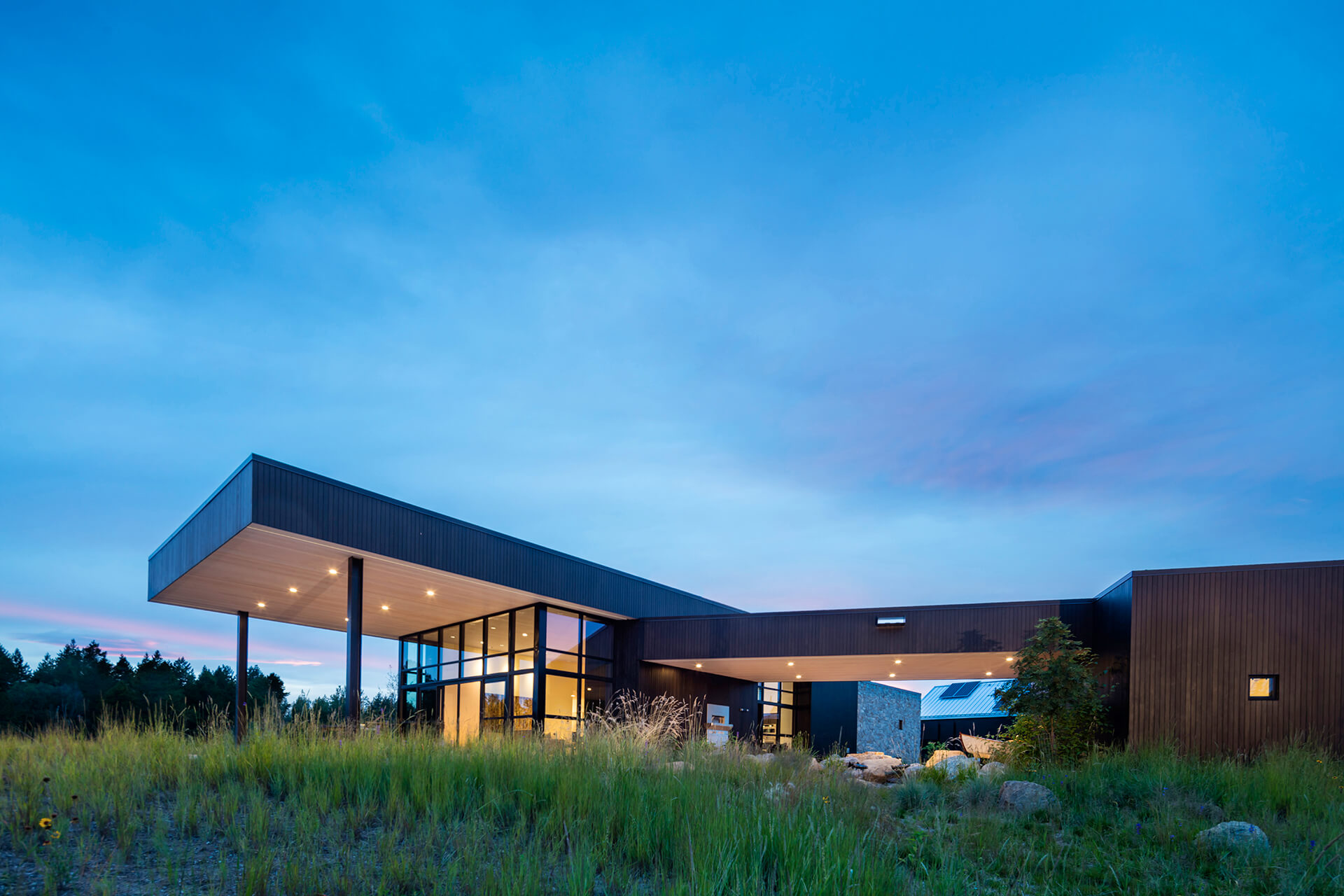 Confluence House by Cushing Terrell