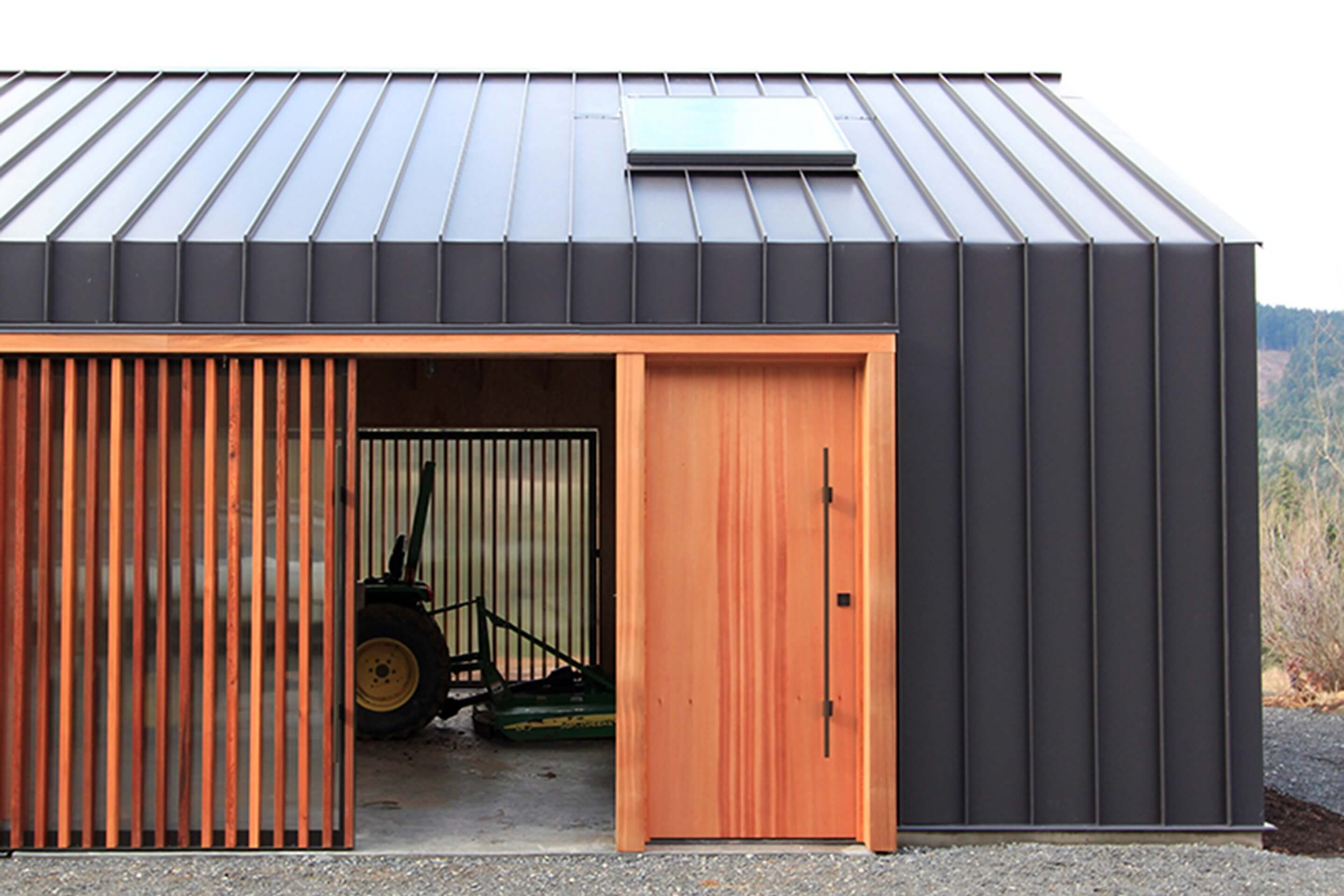 Elk Valley Tractor Shed by FIELDWORK Design and Architecture