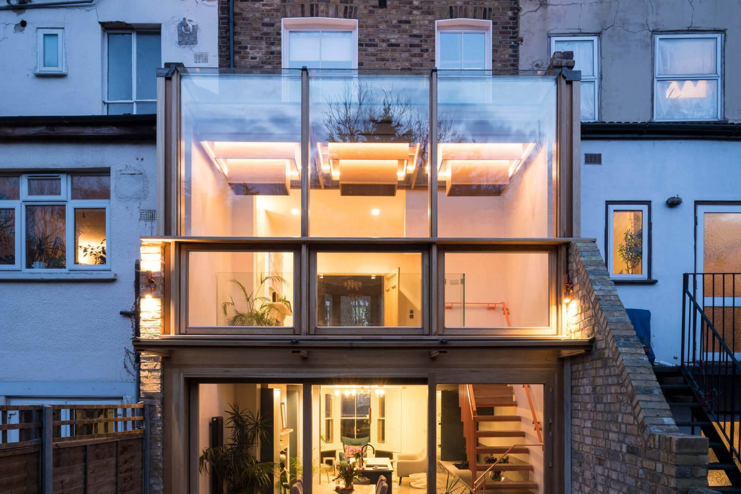 Haringey Glazed Extension by Satish Jassal Architects