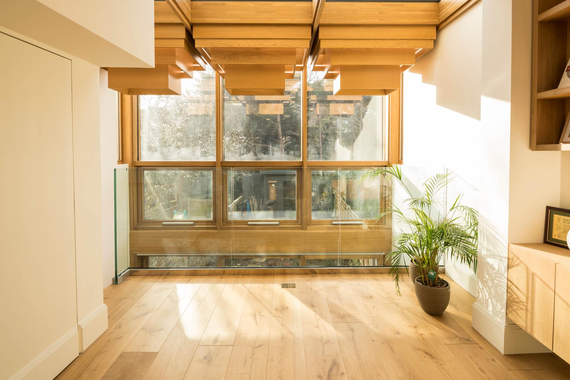 Haringey Glazed Extension by Satish Jassal Architects