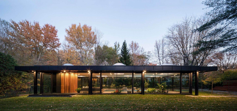 Pavillon A by Maurice Martel Architecte