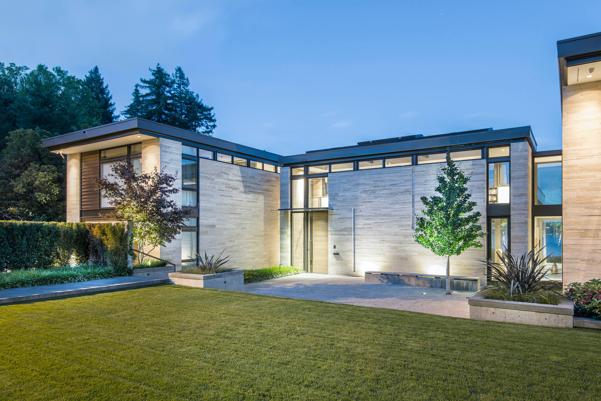 Washington Park Hillside Residence by Stuart Silk Architects