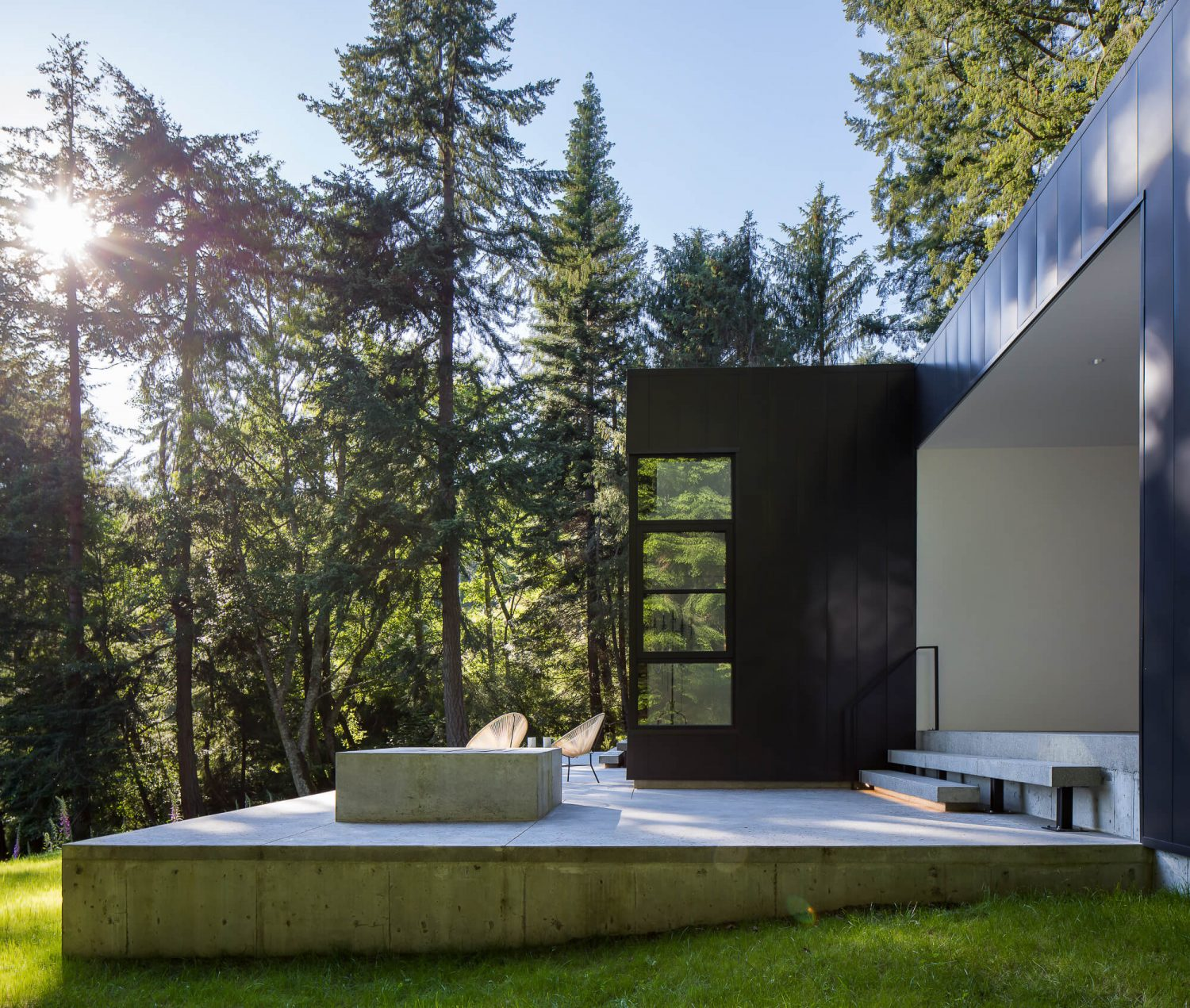 Collector's Retreat by Heliotrope Architects