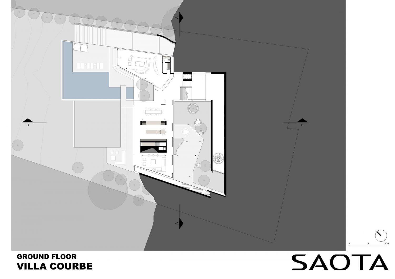 Villa Courbe by SAOTA