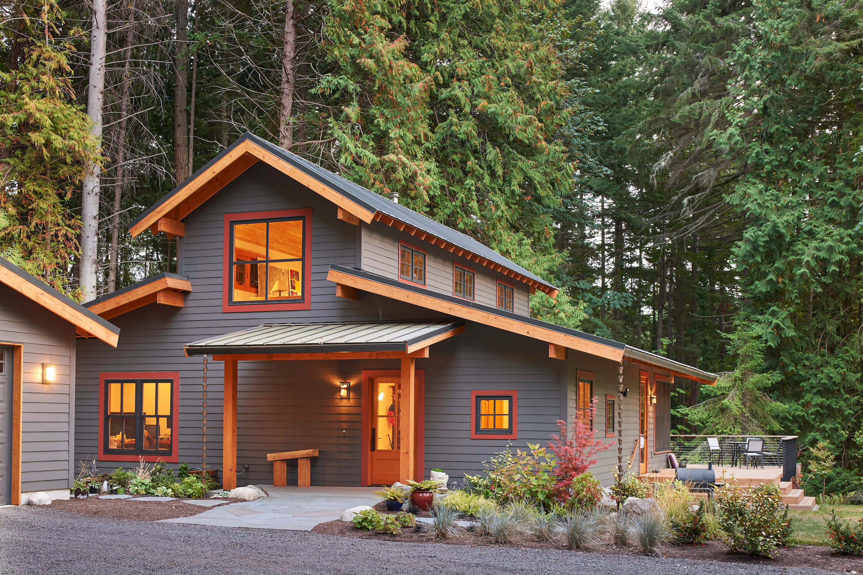 Bainbridge Island Farmhouse by CTA Design Builders