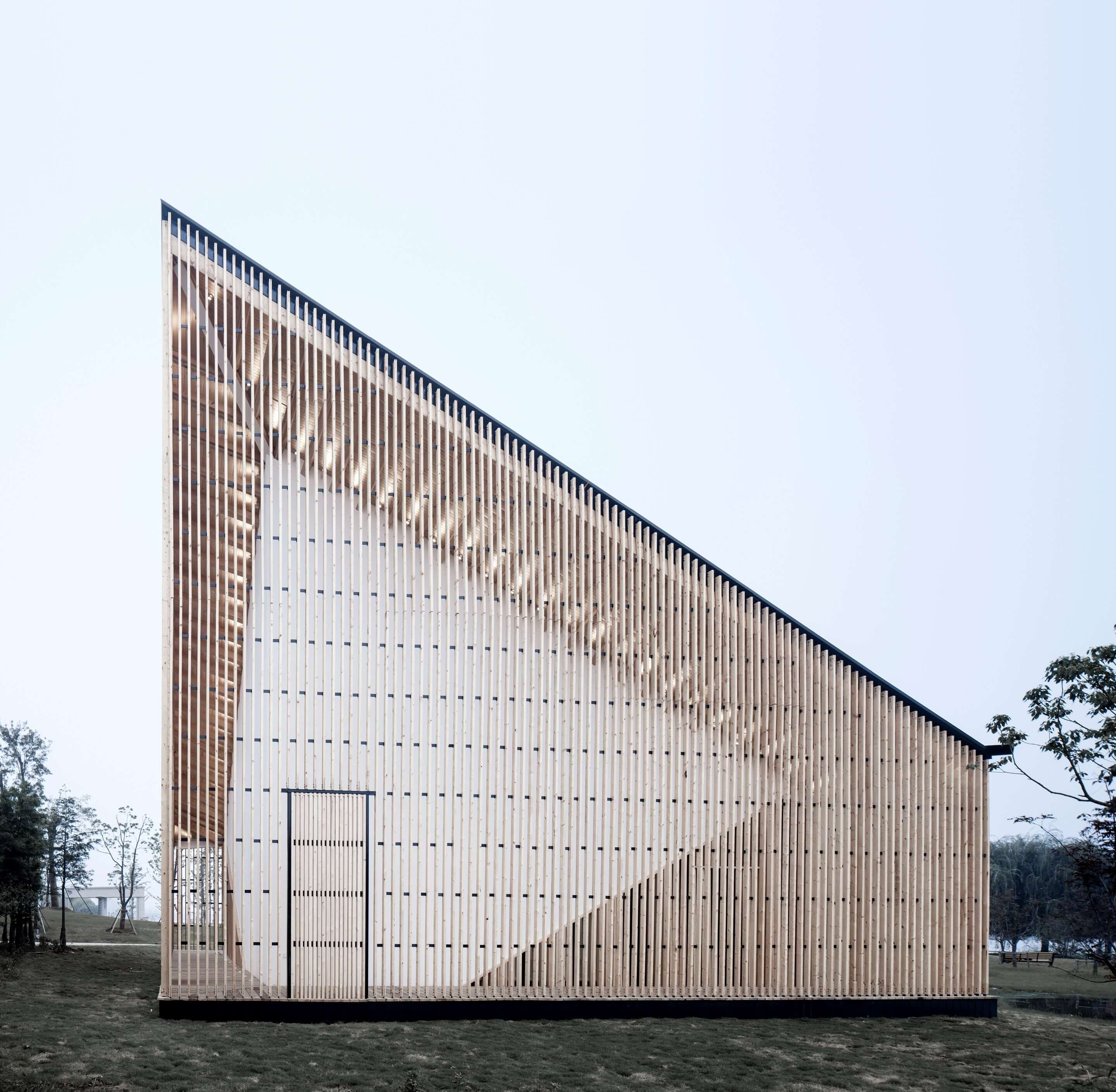 Nanjing Wanjing Garden Chapel by AZL Architects