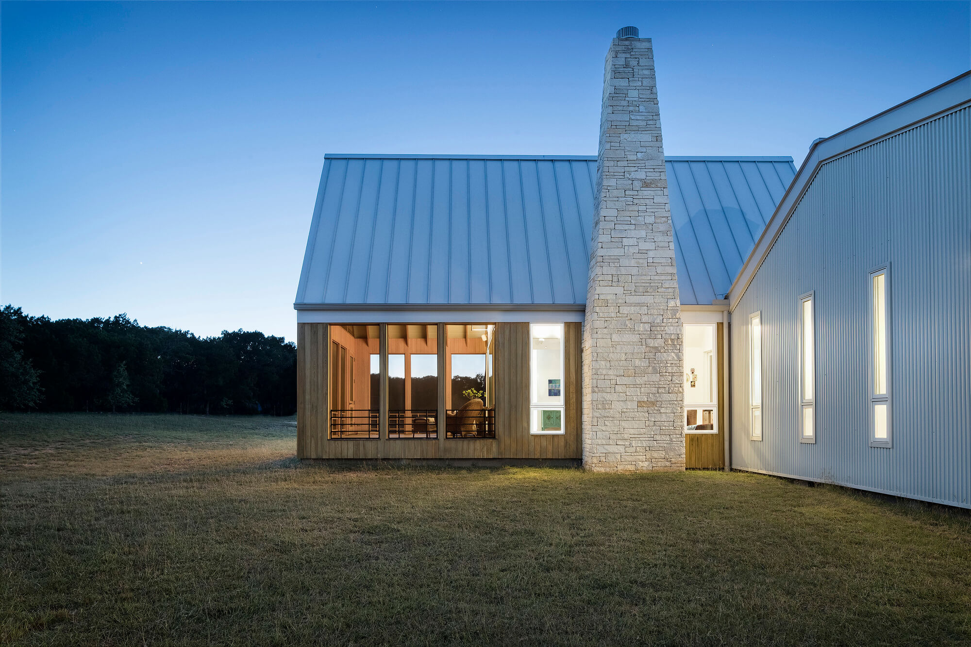 Hill Country House by Miró Rivera Architects