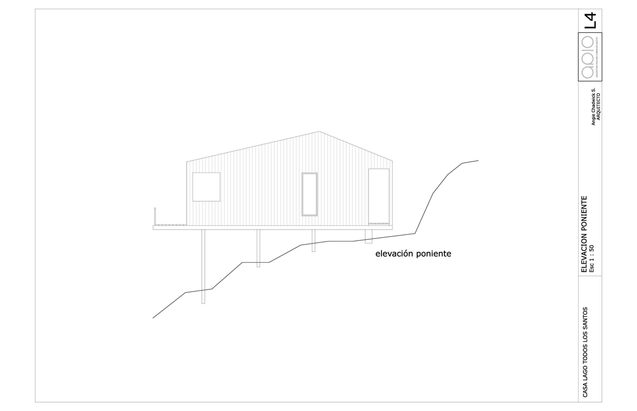 House on Todos Los Santos Lake by Apio Arquitectos
