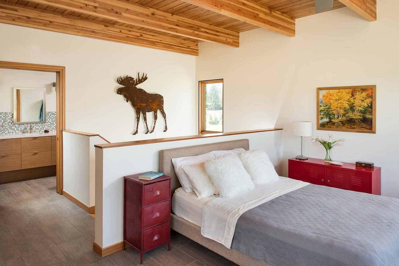 Montana Modern House by Cushing Terrell