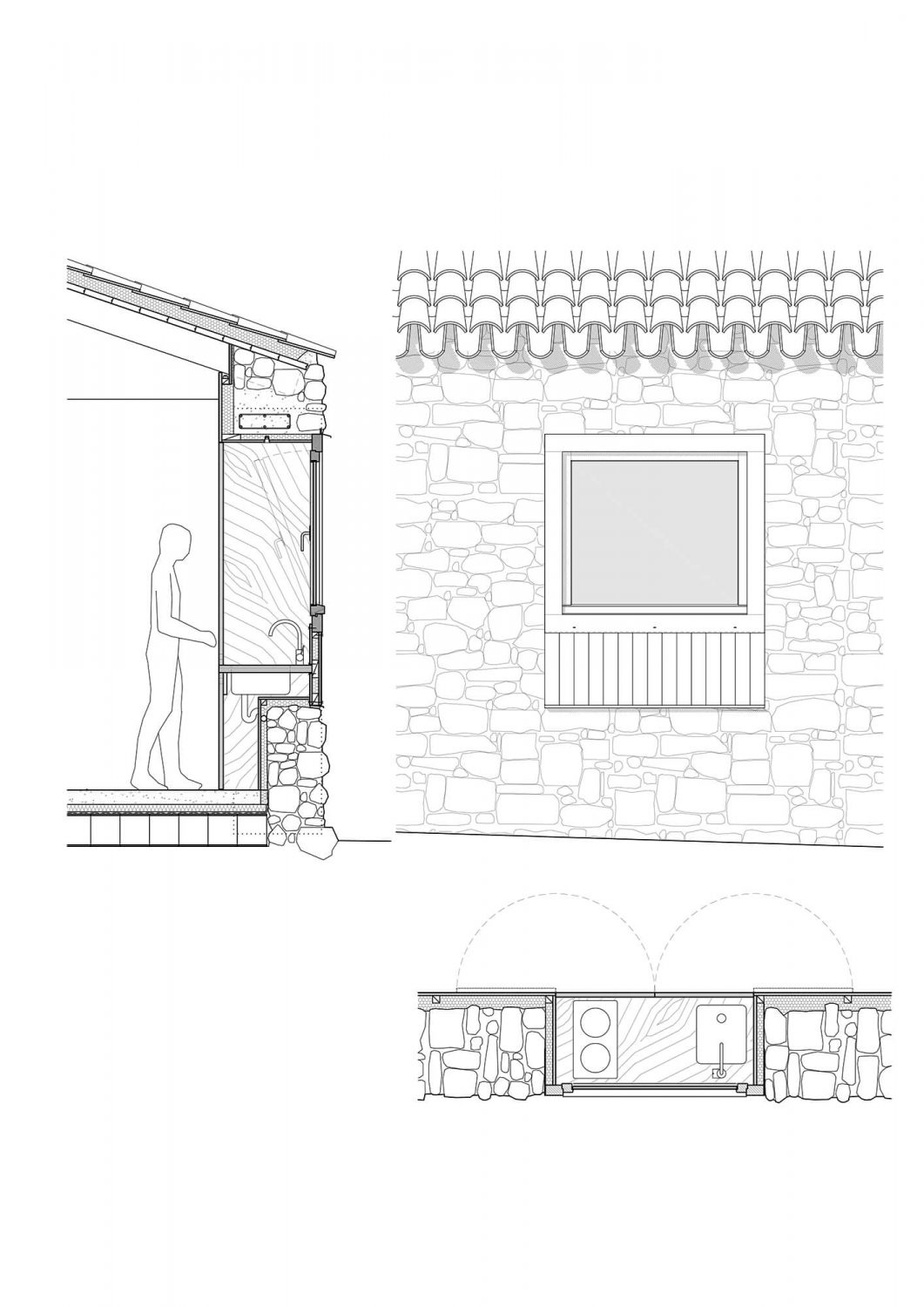 Old Tiny Farm Cottage Transformation by MAAV