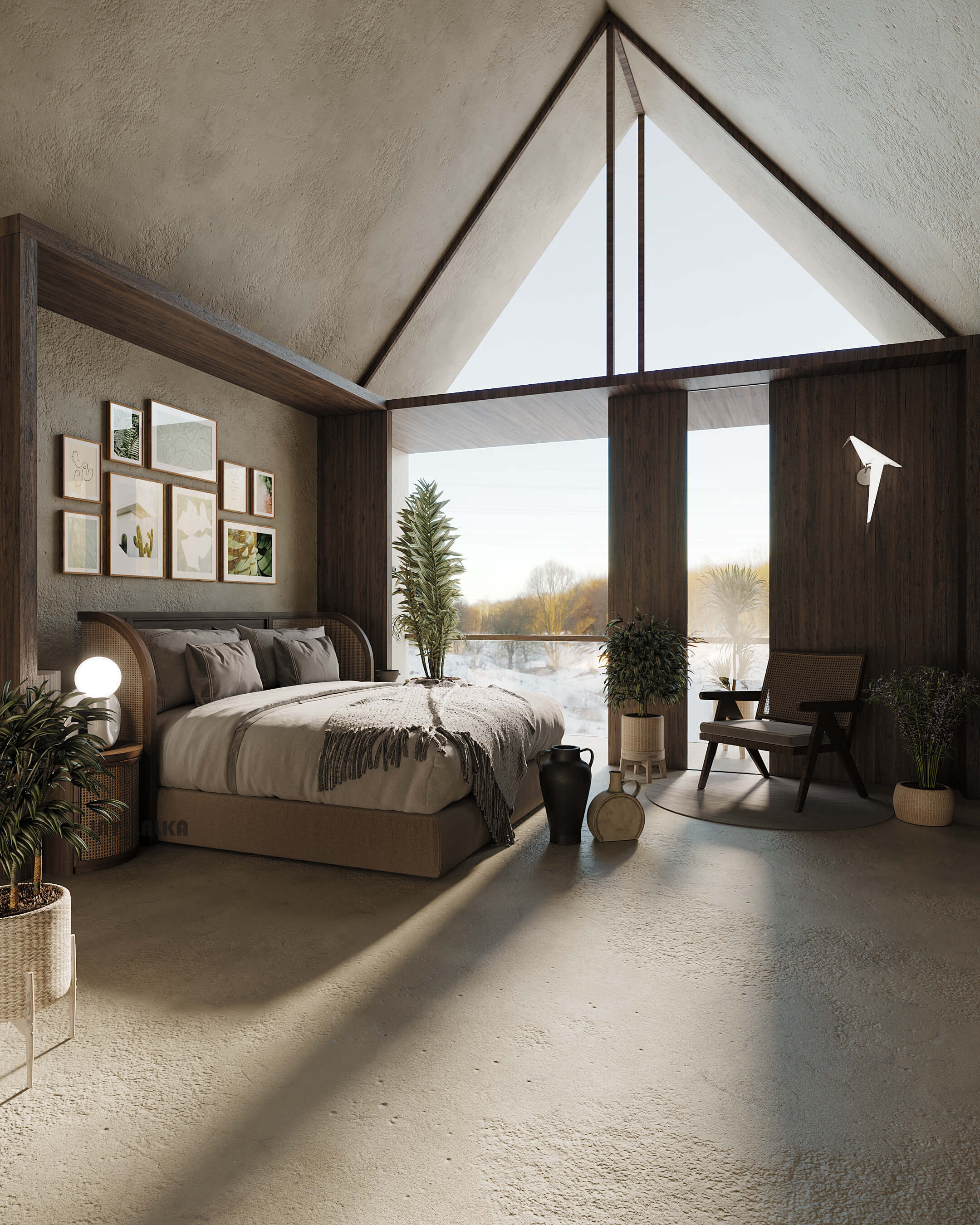 Barn House Visualization by Jay Lalka